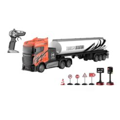 Time2Play Remote Control Tanker Truck with Road Signs