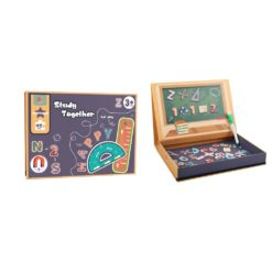 Time2Play Magnetic ABC and 123 Set 45 Pieces