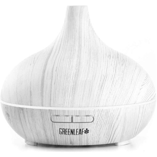 GreenLeaf Infinity Ultrasonic Oil Diffuser and Humidifier 300ML Light Grey