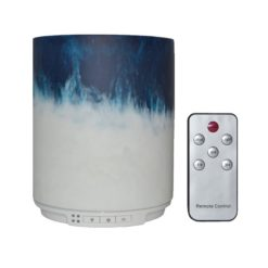 GreenLeaf Candle Ultrasonic Essential Oil Diffuser & Humidifier 250ml with LED Lights Blue