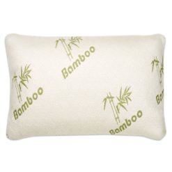 GreenLeaf Shredded Memory Foam Pillow with Bamboo Cover
