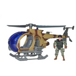 Time2Play Combat Helicopter Set with Sound and Lights