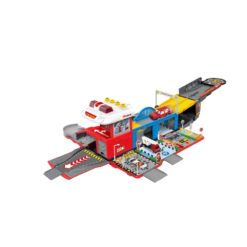 Time2Play Fire Rescue Truck Play Set with Sound and Lights