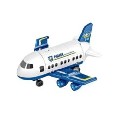 Time2Play Police Plane Parking Tower Play Set