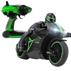Time2Play Remote Control Racing Bike Green
