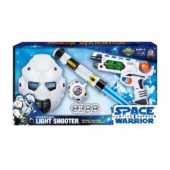 Time2Play Kids Space Justice Warrior Set White