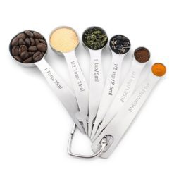 CheffyThings Measuring Spoons 6 Piece