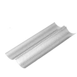 CheffyThings Double Baguette Baking Tray