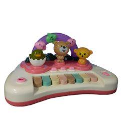 Time2Play Baby Cartoon Animal Piano with Lights