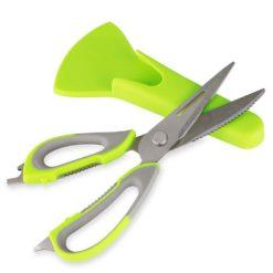 CheffyThings Kitchen Scissors with Holder