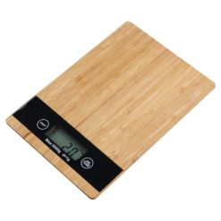 CheffyThings Digital Bamboo Kitchen Scale
