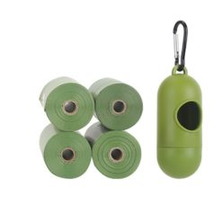 FurryFriends Eco-Friendly Dog Poop Bags and Holder