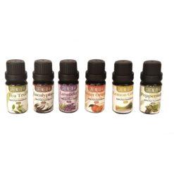 GreenLeaf Essential Oil Bundle - 6 x 10ml
